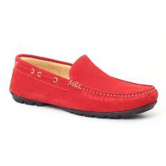 Chaussures homme été 2016 - mocassins Ciao Polo rouge