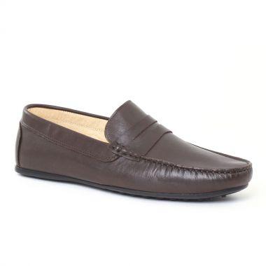 Mocassins Et Bateaux Ciao Polo 9003t Marron, vue principale de la chaussure homme