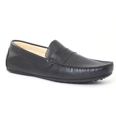 Mocassins Et Bateaux Ciao Polo 9003t Noir, vue principale de la chaussure homme