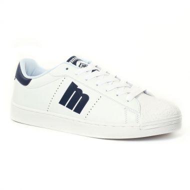 Tennis Mtng 84033 Blanc Marine, vue principale de la chaussure homme