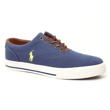 Tennis Polo Ralph Lauren y2141 Navy, vue principale de la chaussure homme