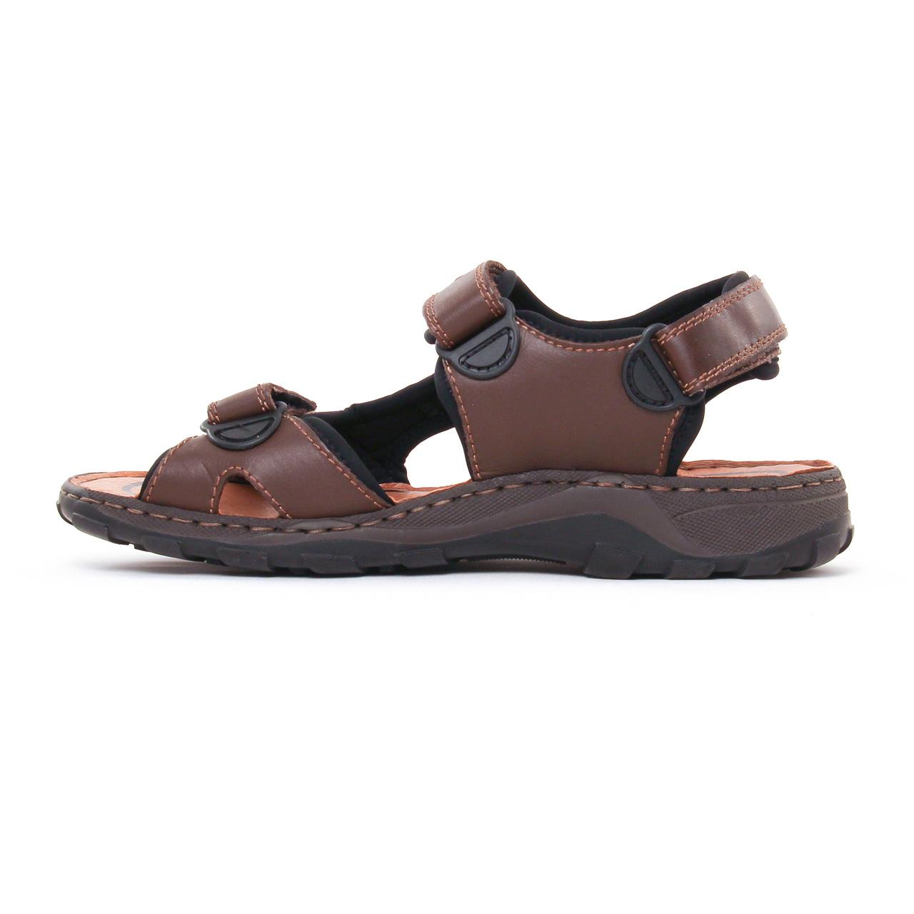 Rieker 26061 Nougat   sandales marron noir printemps été