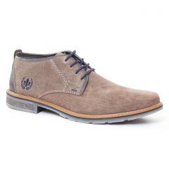 Chaussures homme été 2017 - chaussures montantes rieker gris taupe