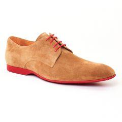 derbys beige: même style de chaussures en ligne pour hommes que les Christian Pellet