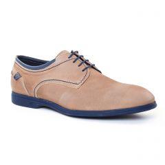 derbys beige taupe: même style de chaussures en ligne pour hommes que les Christian Pellet