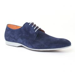 derbys bleu marine: même style de chaussures en ligne pour hommes que les Christian Pellet