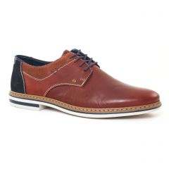 Chaussures homme été 2017 - derbys rieker marron bleu