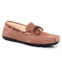 mocassins-bateaux beige: même style de chaussures en ligne pour hommes que les Christian Pellet
