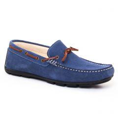 mocassins-bateaux bleu: même style de chaussures en ligne pour hommes que les Geox Homme