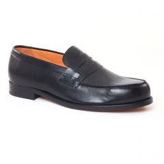 Chaussures homme été 2017 - mocassins Christian Pellet noir