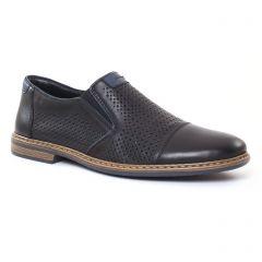 Chaussures homme été 2017 - mocassins rieker noir