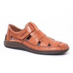 Chaussures homme été 2017 - sandales rieker marron beige
