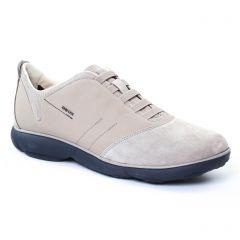 Chaussures homme été 2017 - tennis Geox Homme beige