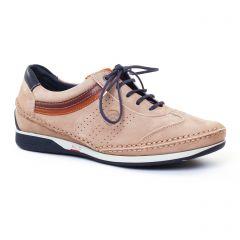 tennis beige marron: même style de chaussures en ligne pour hommes que les Fluchos