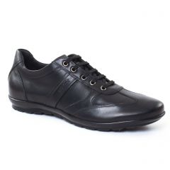 Chaussures homme été 2017 - tennis Geox noir