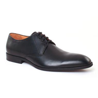 Chaussures Basses À Lacets Christian Pellet Issi Noir, vue principale de la chaussure homme