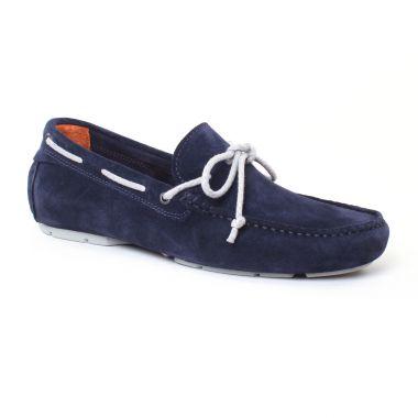 Mocassins Et Bateaux Christian Pellet Icar Navy, vue principale de la chaussure homme