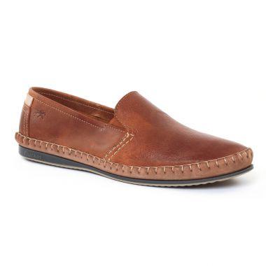 Mocassins Et Bateaux Fluchos 8264 Marron, vue principale de la chaussure homme