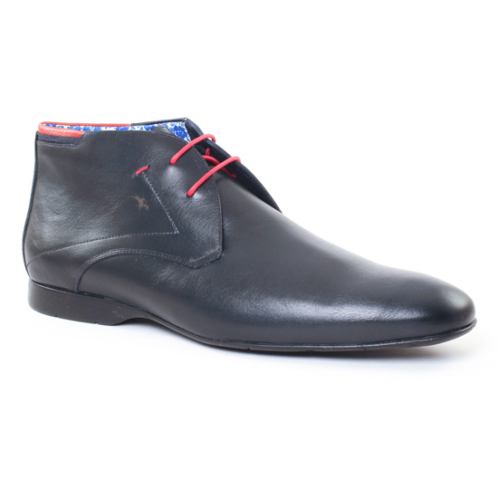 Chaussures Montantes Fluchos 9354 Marine, vue principale de la chaussure homme