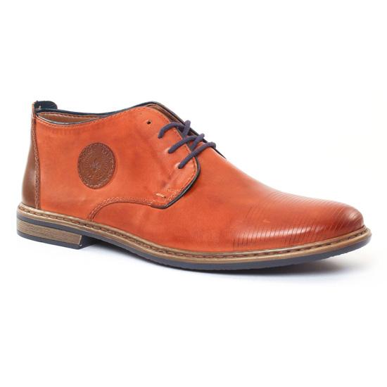 Chaussures Montantes Rieker 13420 Brandy, vue principale de la chaussure homme