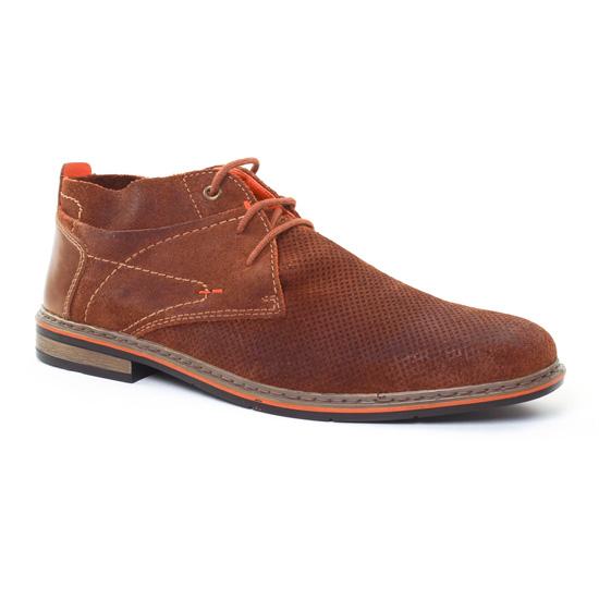 Chaussures Montantes Rieker B1724 Sattel, vue principale de la chaussure homme