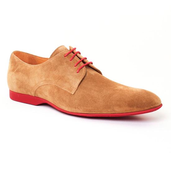 Chaussures Basses À Lacets Christian Pellet Douglas Cuoio, vue principale de la chaussure homme