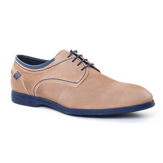 Chaussures Basses À Lacets Fluchos 9072 Marmotte, vue principale de la chaussure homme