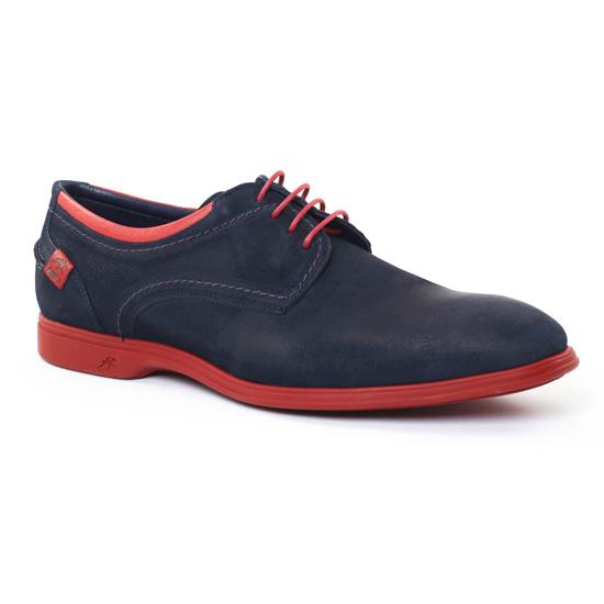 Chaussures Basses À Lacets Fluchos 9072 Ocean, vue principale de la chaussure homme
