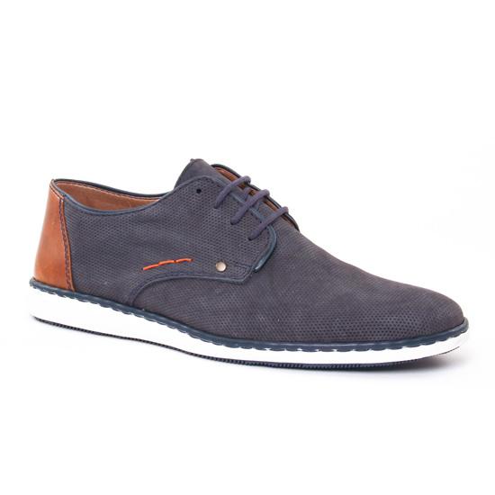 Chaussures Basses À Lacets Rieker 17833 Ozean, vue principale de la chaussure homme