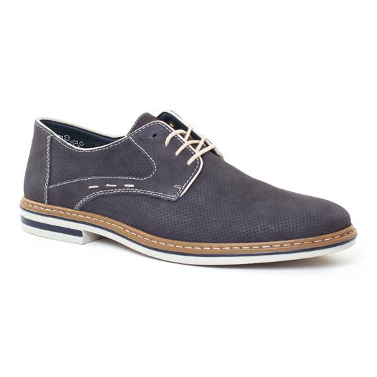 Chaussures Basses À Lacets Rieker B1435 Ozean, vue principale de la chaussure homme