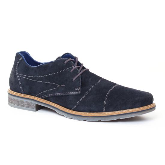 Chaussures Basses À Lacets Rieker B3831 Pacific, vue principale de la chaussure homme