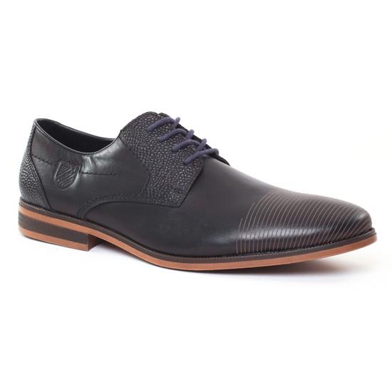 Chaussures Basses À Lacets Rieker 11620 Nero, vue principale de la chaussure homme