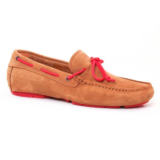 Mocassins Et Bateaux Christian Pellet Icar Cuoio, vue principale de la chaussure homme
