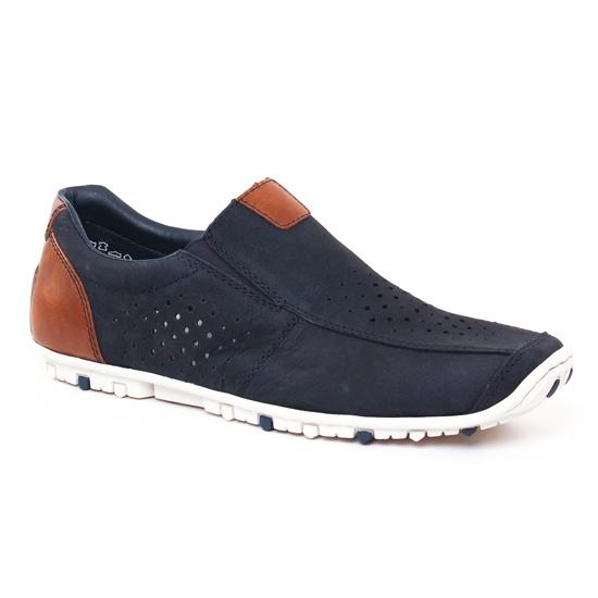 Mocassins Et Bateaux Rieker 08976 Pacific, vue principale de la chaussure homme