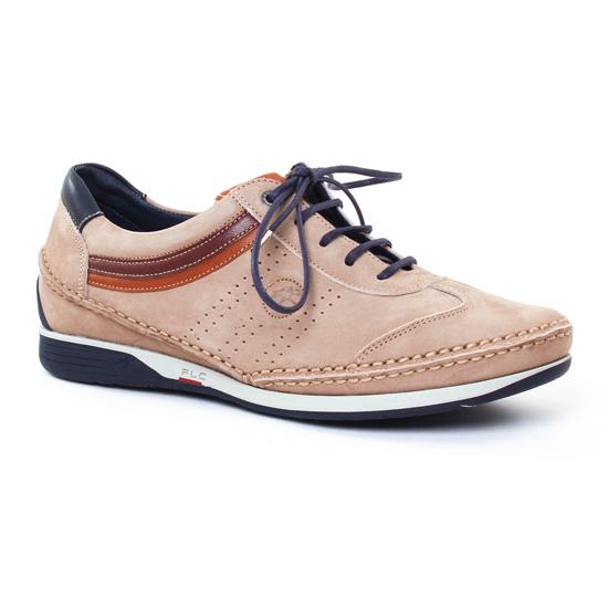 Tennis Fluchos 9122 Marmotte, vue principale de la chaussure homme