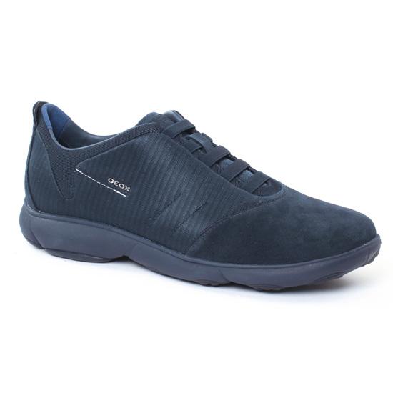 Tennis Geox U62D Navy, vue principale de la chaussure homme