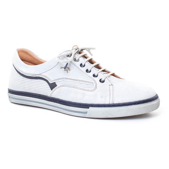 Tennis Fluchos 9372 Marron, vue principale de la chaussure homme