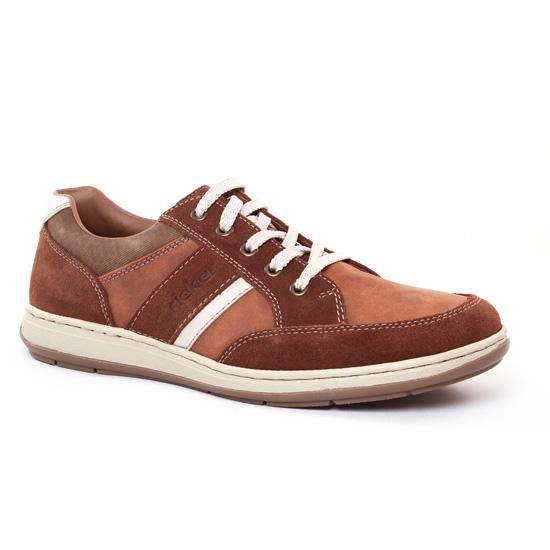 Tennis Rieker 17312 Sattel, vue principale de la chaussure homme