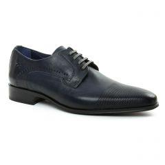 derbys bleu marine: même style de chaussures en ligne pour hommes que les Fluchos