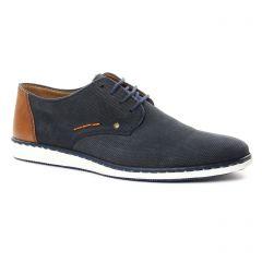 derbys bleu marron: même style de chaussures en ligne pour hommes que les Rieker