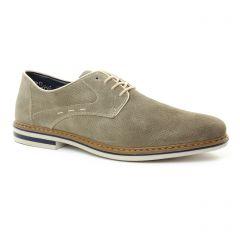derbys beige gris: même style de chaussures en ligne pour hommes que les Rieker