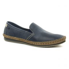 mocassins bleu: même style de chaussures en ligne pour hommes que les Rieker