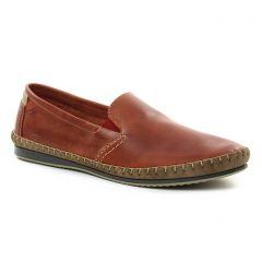 mocassins marron beige: même style de chaussures en ligne pour hommes que les Fluchos