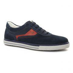 tennis bleu bordeaux: même style de chaussures en ligne pour hommes que les Fluchos