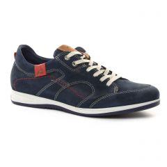 tennis bleu marine: même style de chaussures en ligne pour hommes que les Faguo