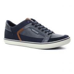 tennis bleu marron: même style de chaussures en ligne pour hommes que les Geox Homme