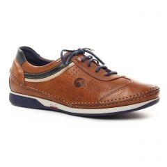tennis marron bleu: même style de chaussures en ligne pour hommes que les Fluchos