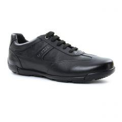 Chaussures homme été 2018 - tennis Geox Homme noir
