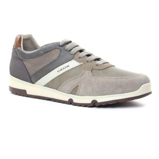 Tennis Geox U823Xb Rock, vue principale de la chaussure homme