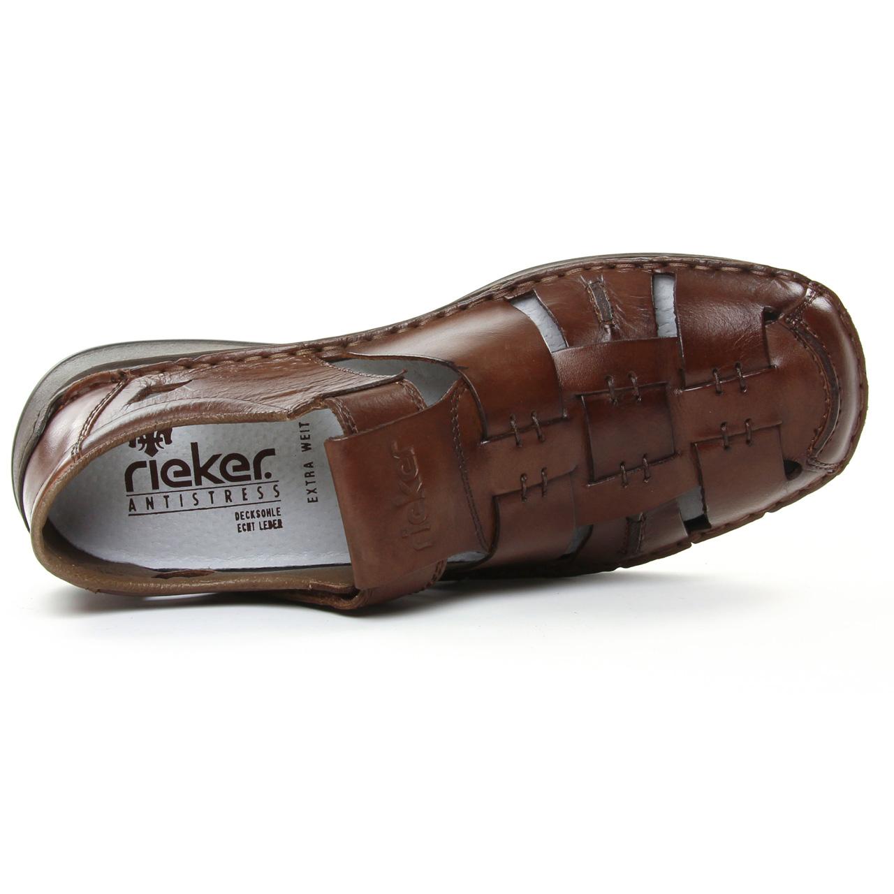 Rieker 05275 26 Toffee | sandales marron printemps été chez